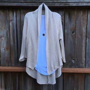 Cabi open front knit cardigan